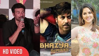 Sunny Deol Reaction On Sunny Leone Rejected For Bhaiyyaji Superhit Item Song   Poster Boys