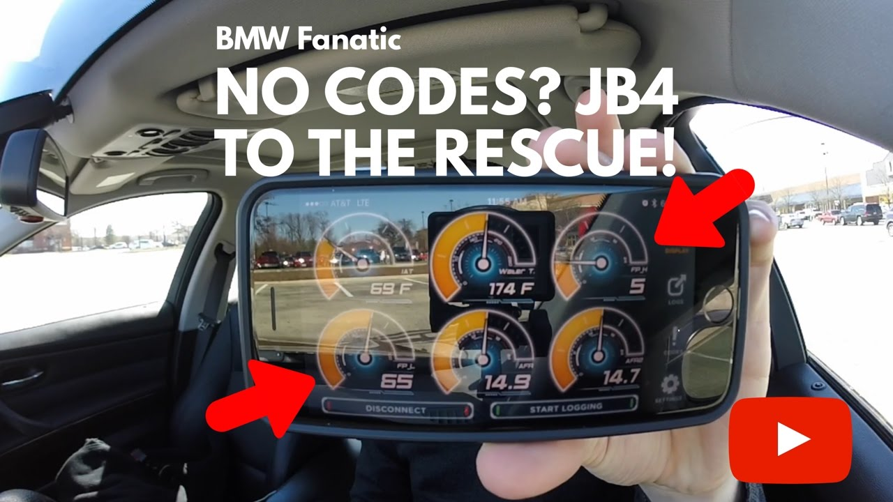No BMW Codes? JB4 To The Rescue!