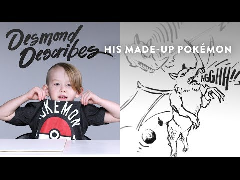 Desmond Describes Pokemon to Koji the Illustrator