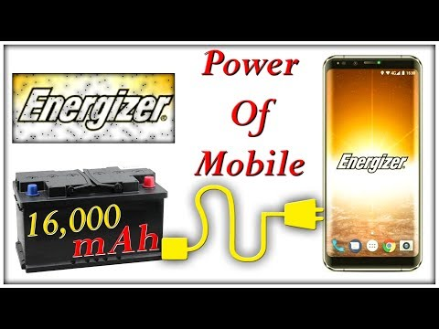 World's first smartphone with massive 16,000mAh battery | Energizer Power Max P16K Pro