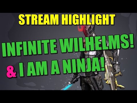 "Stream Highlights: Wilhelm the Infinite ""Idea"" & Super Cardboard Ninja"