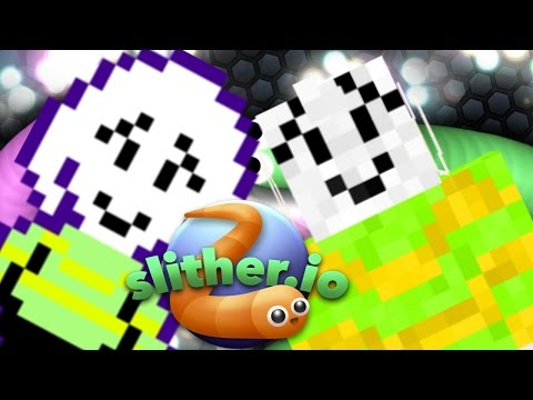 ASRIEL DREEMURR PLAYS SLITHER.IO (undertale roleplay)