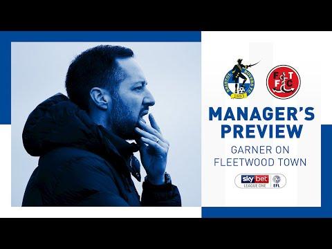 Pre-Match: Ben Garner on Fleetwood Town