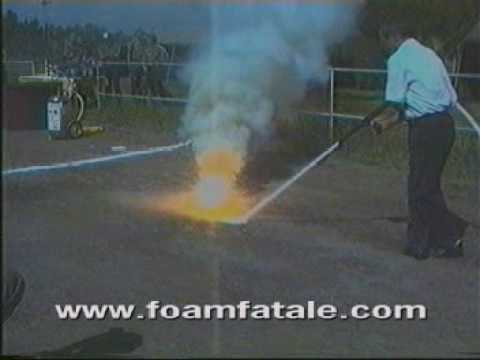 MILITARY THERMITE CARTRIDGE FIRE EXTINGUISHED BY FOAMFATALE