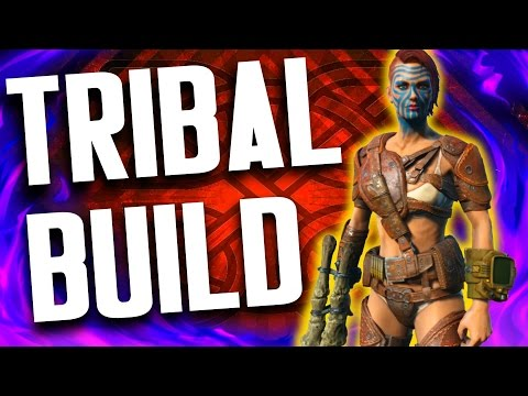 Fallout 4 Builds - The Tribal - Ultimate Deathclaw Build