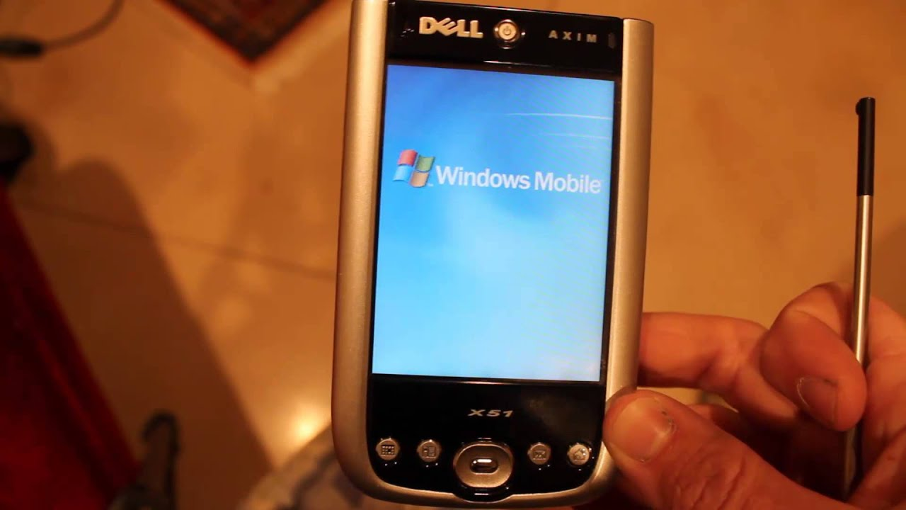 Watch on dell axim