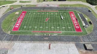 Landing on my High School Football Field   Microsoft Flight Simulator 2020