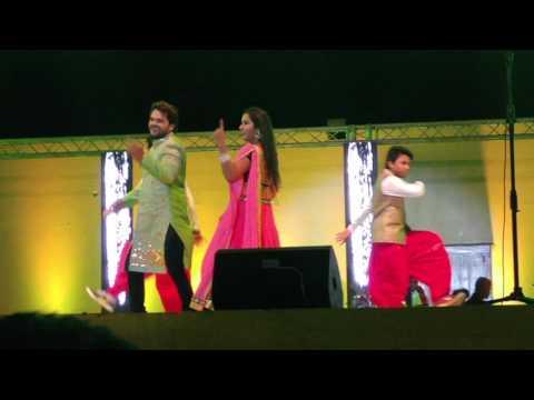 Sarso Ke Sagiya Khesari Lal Yadav With Kajal Raghwani Bhojpuri Muqabala Doha Qatar 17 March 2017