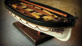 RMS Titanic's Lifeboat - Спасательная шлюпка Титаника(1/35 Scale Titanic Lifeboat Wooden Ship Model Kit by Artesania Latina. Деревянная модель спасательной шлюпки корабля Титаник, масштаб..., 2014-12-01T02:28:00.000Z)