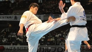 The 46th ALL JAPAN KARATE TOURNAMENT Men 3rd round Yuji Shimamoto v...
