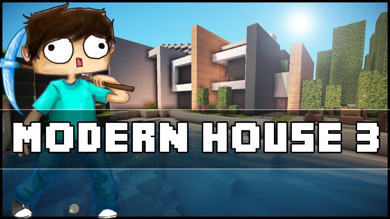 Minecraft Modern House 3 YouTube