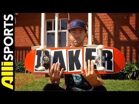 Andrew Reynolds' Baker Skateboard Setup 2012, Alli Sports