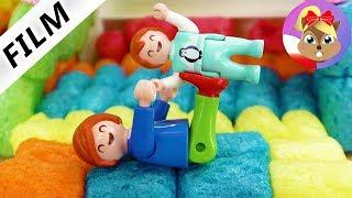2821 POL TOYS 100818 15311 Playmobil Film deutsch HÜPFBURG IN LUXUSVILLA   Kinderzimmer ein Spasspar