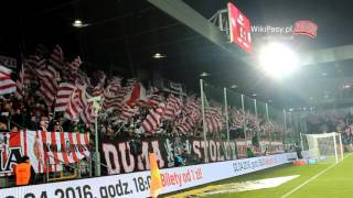 12.03.2016 Cracovia - Legia Warszawa 1:2 OPRAWA (WikiPasy.pl)