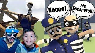 Ladron se Roba el Diamante | Policías y Ladrones en Mundo de Plastilina | Juegos Karim Juega