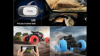 ZIGOTECH VR RC Car Review, Dash Cam Rock Crawler unboxing 2018 top-rated item fpv toys