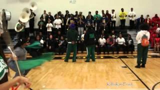 Cass Tech High School Alumni Band - Cold Hearted Snake - 2013