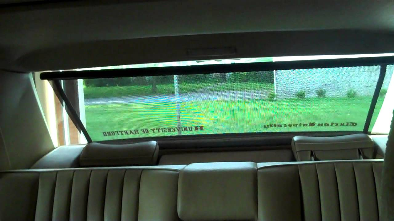 Power sun shade youtube for Mercedes benz shades