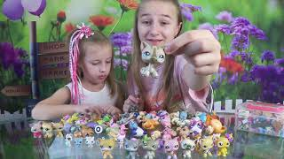Моя коллекция петов ЛПС Литл Пет Шоп 100+ LPS Littlest Pet Shop