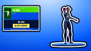 FORTNITE NEW AIR HORN EMOTE & NEW BOTTLE ROCKETS ITEM! FORTNITE ITEM SHOP UPDATE