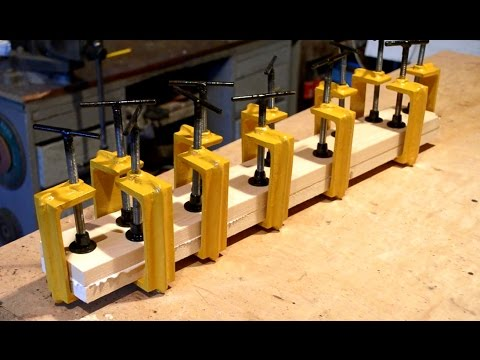 Thumbnail: Homemade twelve C-Clamps