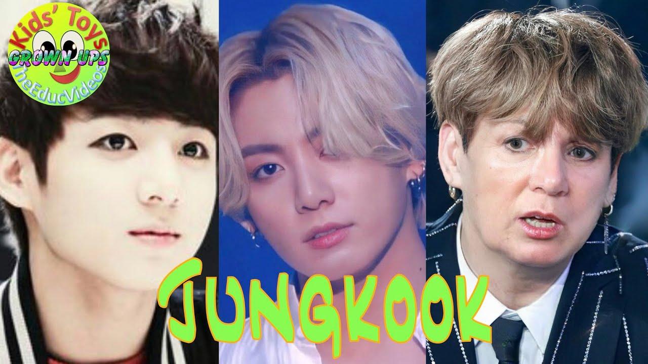 BTS Jungkook Popular Celebrity Memes: Grown Ups