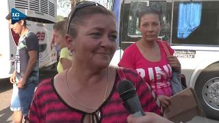 Jornada peronista: el traslado de los manifestantes