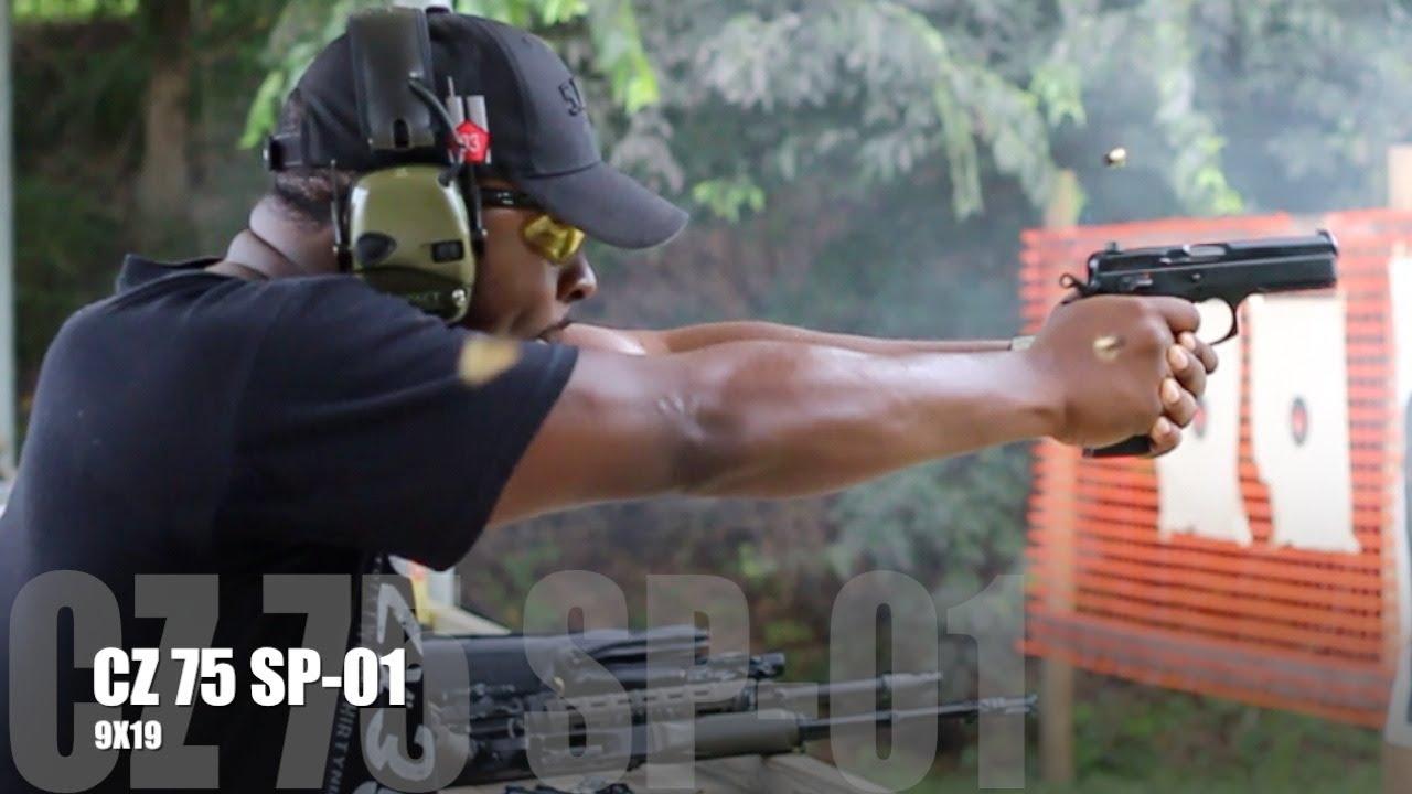 CZ-USA SP-01 Tactical (w/ Decocker) 9mm