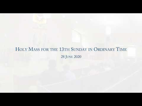 holy-mass-for-the-13th-sunday-in-ordinary-time