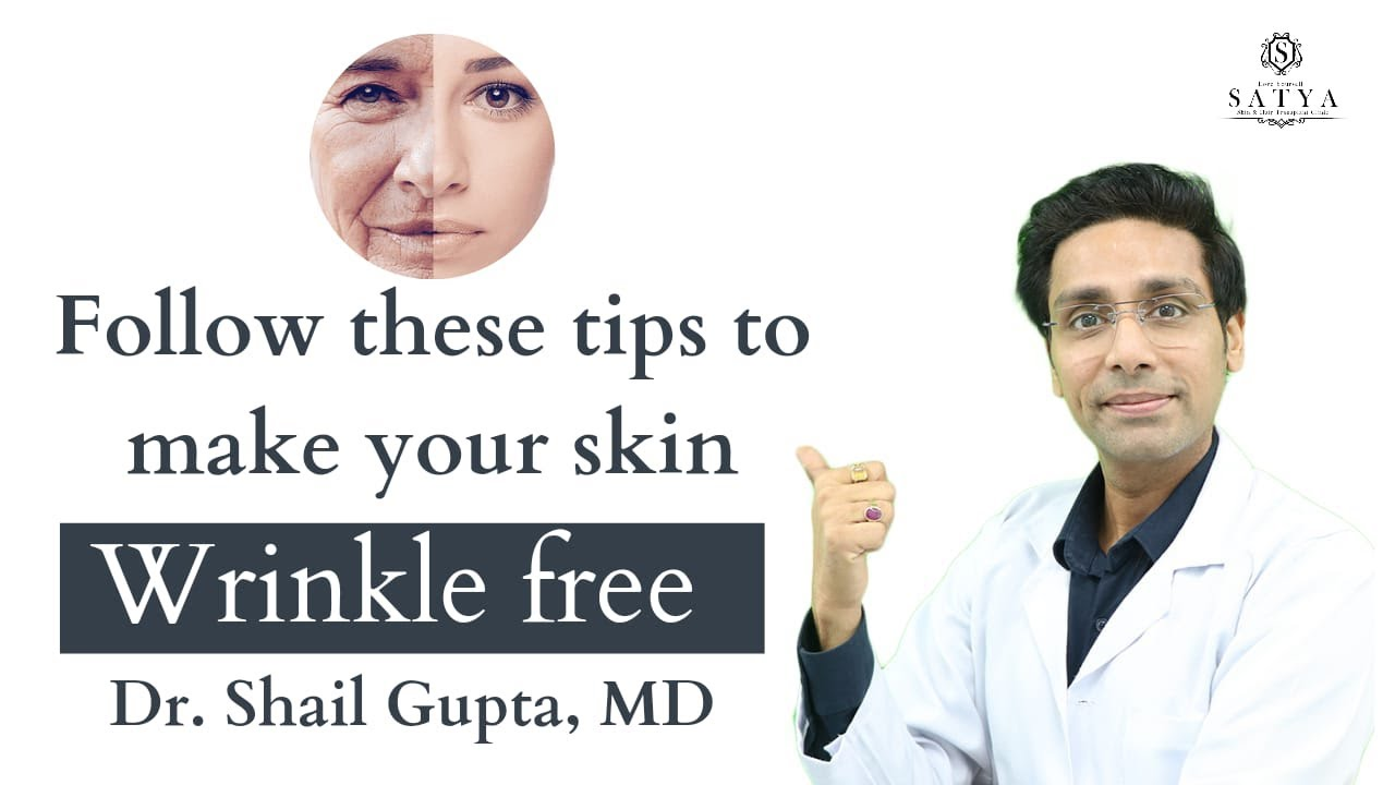 Anti Aging Key To Look Younger Dr Shail Gupta Youtube