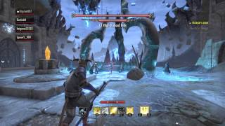 ps4 The Elder Scrolls Online party DUNGEON the banished cells