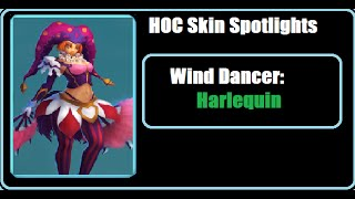 Heroes of Order and Chaos (HOC) Skin Spotlight: Wind Dancer (Aria) - Harlequin