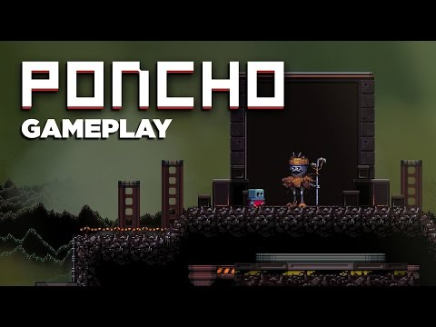 A 2D Platformer With Depth – PONCHO Gameplay
