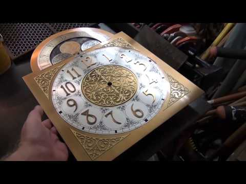 Howard Miller Grandfather Clock Part 1