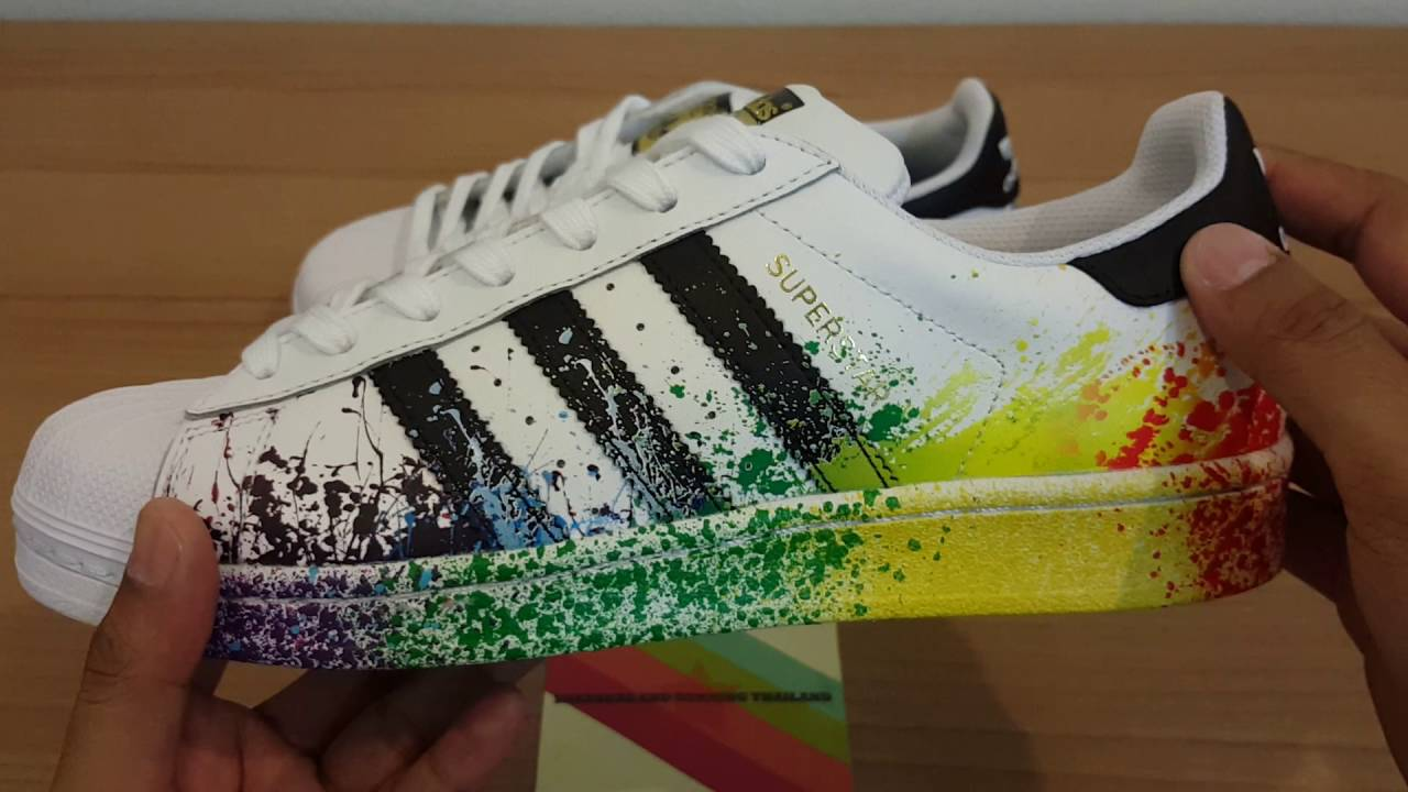 united kingdom super popular outlet store sale Adidas Original Super Star Limited Edition 2016 / พากษ์ไทย