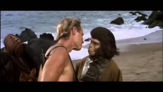 IL PIANETA DELLE SCIMMIE (1968)- bacio d'addio alla Dottoressa Zira (sei talmente brutto!)
