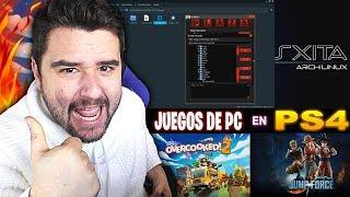 PS4 JAILBREAK JUEGOS DE PC EN TU PS4 GRATIS PARA LINUX V2 TUTORIAL COMPLETO-9BRITO9
