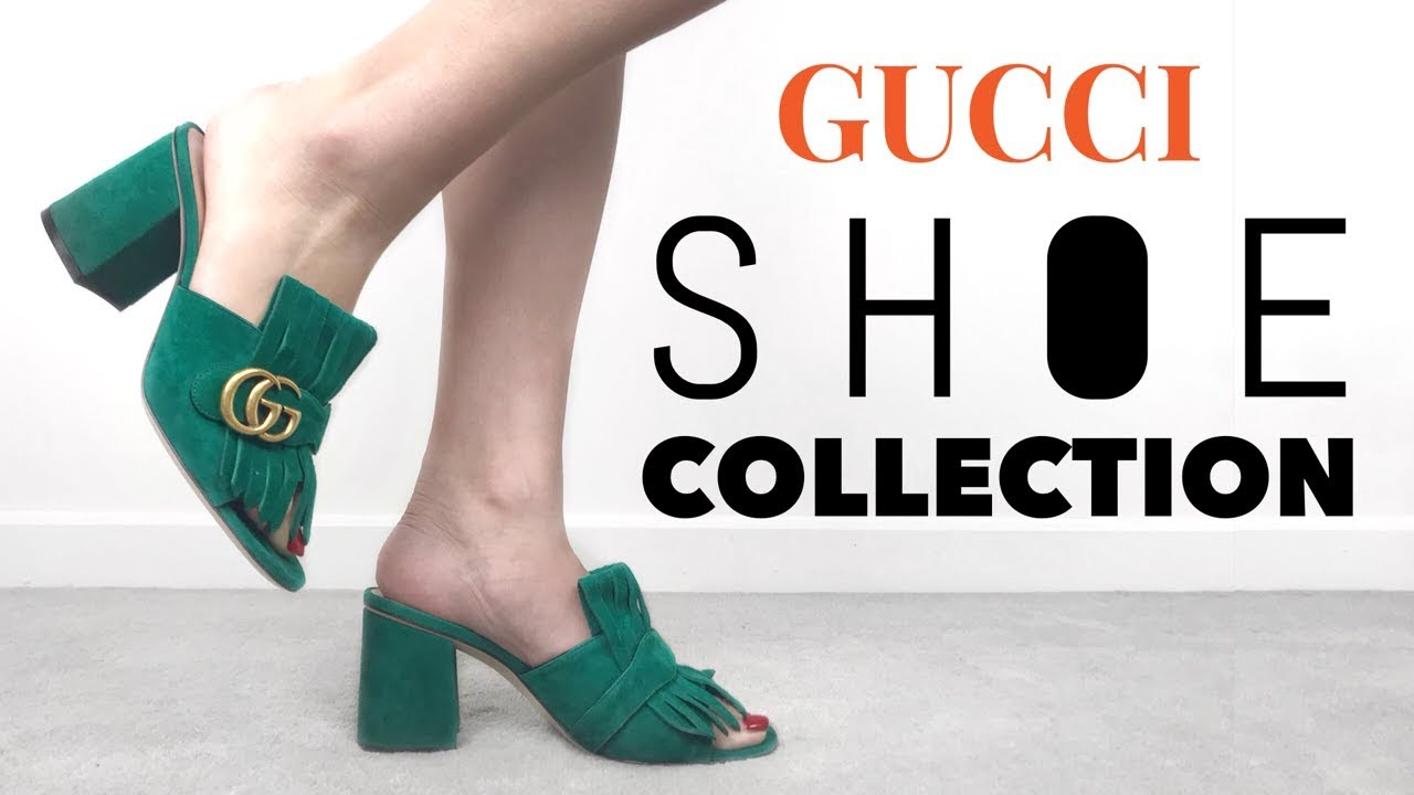 ac28011918b MY GUCCI SHOE COLLECTION + TRY ON