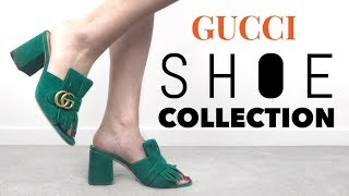 MY GUCCI SHOE COLLECTION + TRY ON | Mel in Melbourne