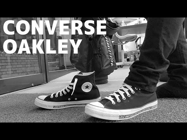 【CONVERSE×OAKLEY】コラボCM風動画とコスパ最強のキャディバッグ紹介:オークリー、コンバース