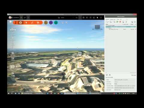 Using environment agency LIDAR data in Autodesk Infrastructure Design Suites