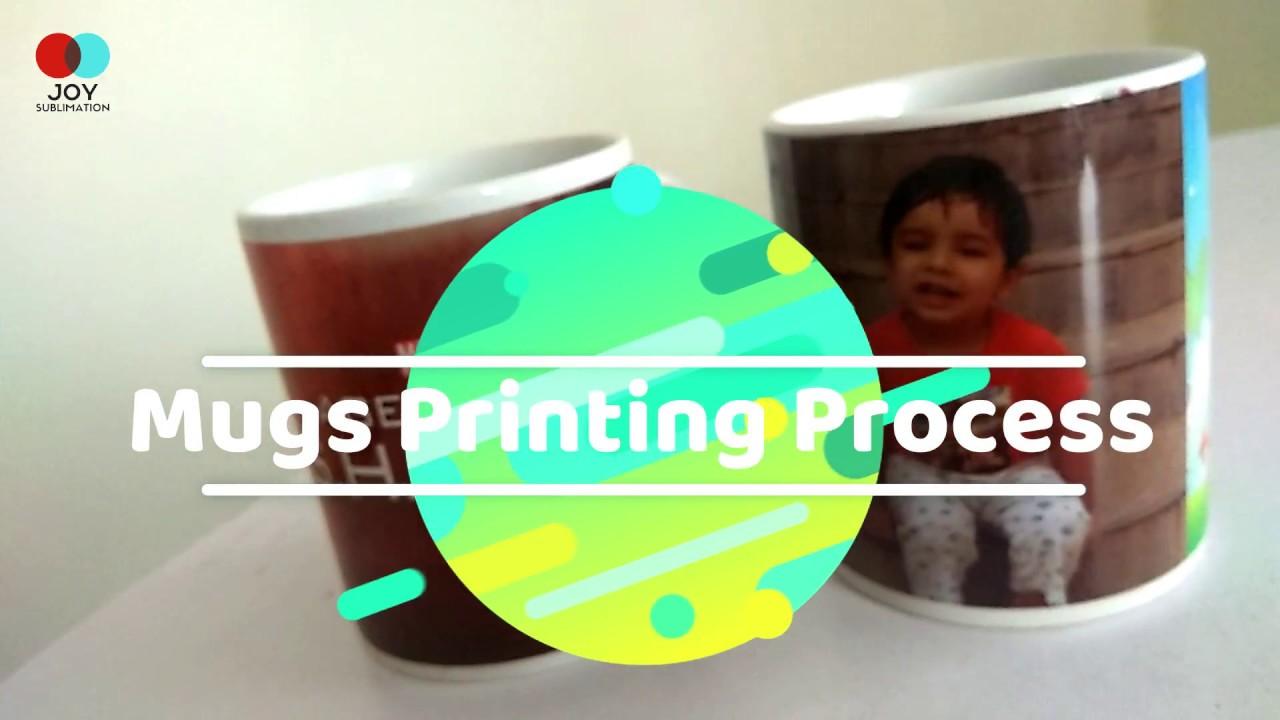 sublimation mugs printing process how to use mug press machine