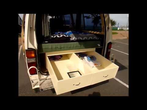 Campervan Toyota Hiace For Sale At Gold Coast Australia