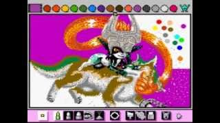 Mario Paint - Oct 14 Contest (Zelda/Link): In the Mirror of your Eyes (Part 2) - User video
