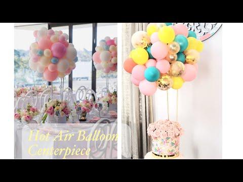 DIY Hot Air Balloon Centerpiece Tutorial