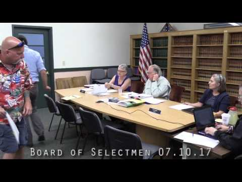 Board of Selectmen 07.10.17