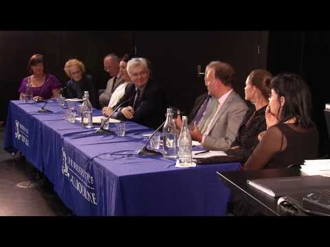 Global Giving to the Arts, Round Table discussion