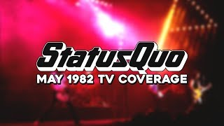 Status Quo; Soundcheck / Interview, May 1982