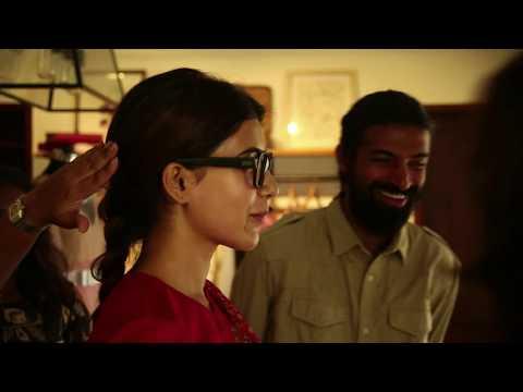 Making Video of Madhuravani - Samantha from Mahanati Movie