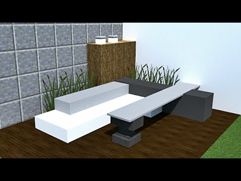 minecraft tutoriel de d coration int rieur et ext rieur 3 youtube. Black Bedroom Furniture Sets. Home Design Ideas